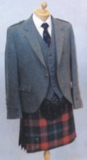 Day Jacket (Tweed Argyll)